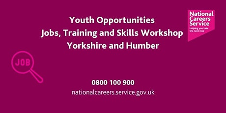 Youth Opportunities – Jobs, Training & Skills- Keighley, Bradford & Halifax tickets