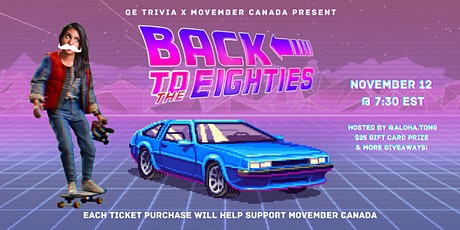 QE Trivia 032: Back to the Eighties (80s Virtual Trivia Night) tickets