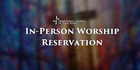 November 7 ,  Contemporary Worship, 5 pm tickets