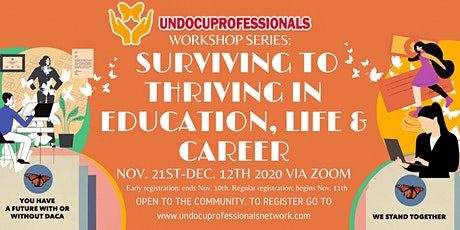 UndocuProfessionals Workshop #6: We are all Entrepreneurs tickets