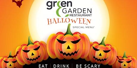 Green garden - special menu biglietti