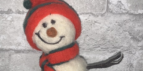 Festive Snowman Needle Felting Workshop tickets