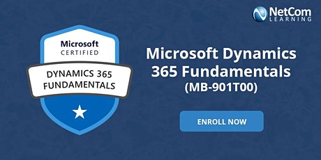 Microsoft Dynamics 365 Fundamentals (MB-901T00) 2-Days Training in DC tickets
