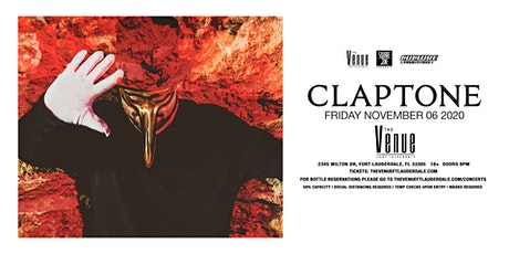 Claptone // 11.6 // The Venue Fort Lauderdale tickets