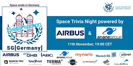 SG[Germany] - Virtual Space Trivia Night tickets