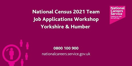 National 2021 Census - Applications Workshop - Bradford, Halifax & Keighley tickets