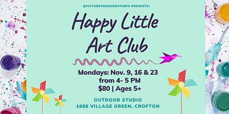 Happy Little Art Club tickets