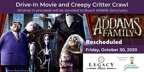 Drive In Movie - The Addams Family plus Creepy Critter Crawl tickets
