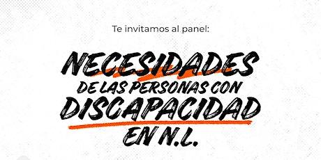 Necesidades de las personas con discapacidad en Nuevo León boletos