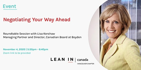 Lean In Canada: Negotiating Your Way Ahead tickets
