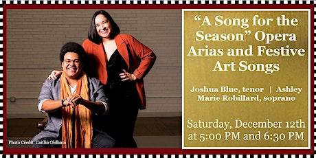 Sounds of Joy & Light: Chamber Concert - Opera Arias and Festive Art Songs tickets