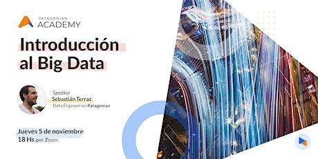 Introducción al Big Data boletos