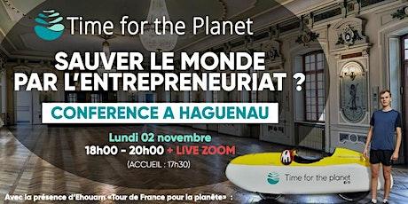 Sauver le monde par l'entrepreneuriat ? Un vélomobiliste vous en parle ! Tickets