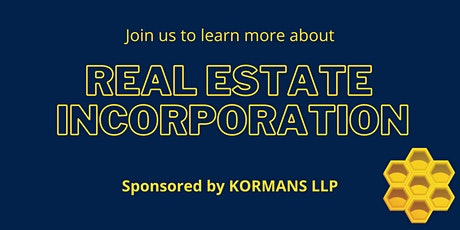 REAL ESTATE INCORPORATION - THE FUTURE IS HERE tickets