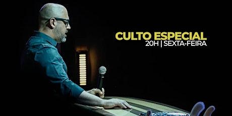 CULTO ESPECIAL - 20H - 30.10 ingressos