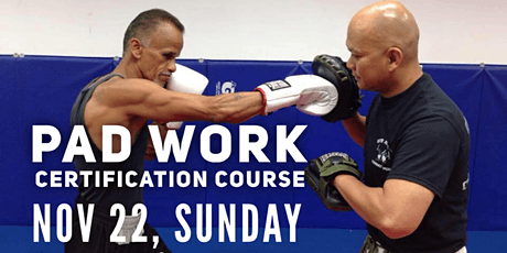 Fitness Boxing & Focus Mitt Certification Course for Fitness Professionals tickets