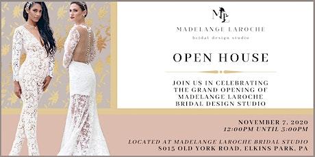 Madelange Laroche Bridal Design Studio Open House tickets
