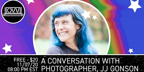 A conversation with photographer, JJ Gonson x OVV tickets