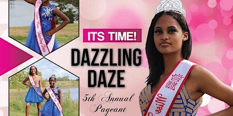 Dazzling Daze Beauty Pageant 2021  REGISTRATION tickets