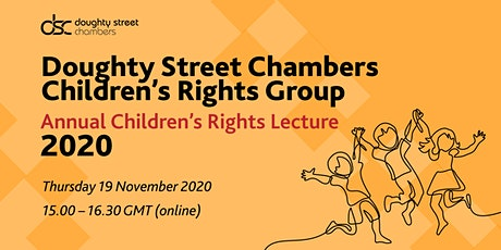 Children's Rights Group Annual Children's Rights Lecture 2020 tickets