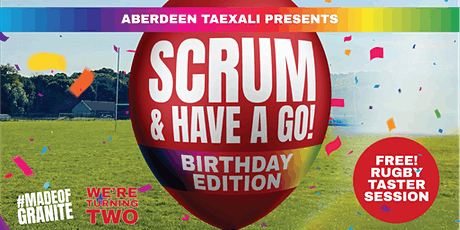 Scrum & Have a Go! Birthday Edition - Free Rugby Taster Session tickets