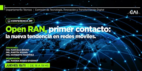 Open RAN, primer contacto:  la nueva tendencia en redes móviles boletos