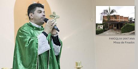 Missa de Finados Seg 02/11 - 08h - Paróquia Sant'Ana ingressos