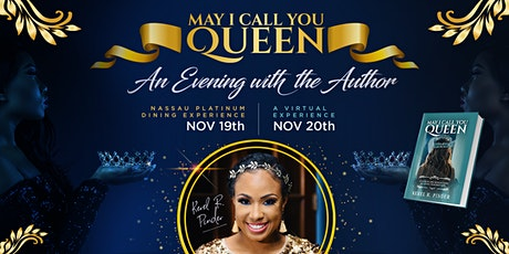 May I Call You Queen - An Evening with the Author - A Virtual Experience tickets