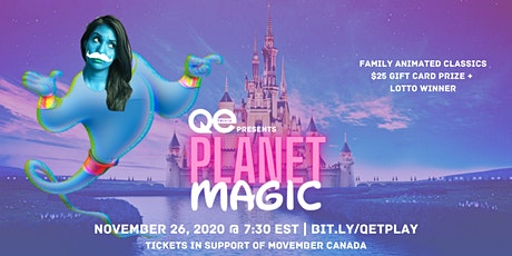 QE Trivia 034: Planet Magic (Animated Classics Virtual Family Pub Quiz) tickets