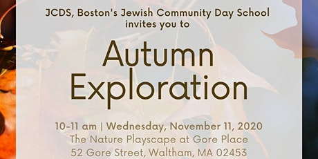 Veterans Day Autumn Exploration with JCDS tickets