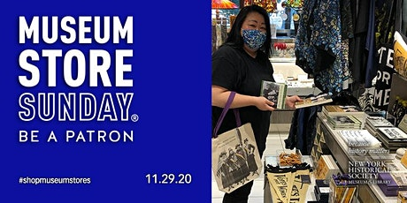 Museum Store Sunday November 29, 2020 at the NYHistory Store tickets