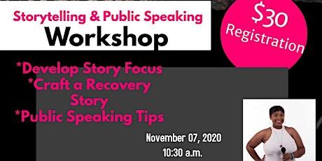 Spark of Hope Storytelling & Public Speaking Workshop tickets