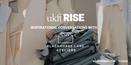 Inspirational Conversations With Blackhorse Lane Ateliers tickets