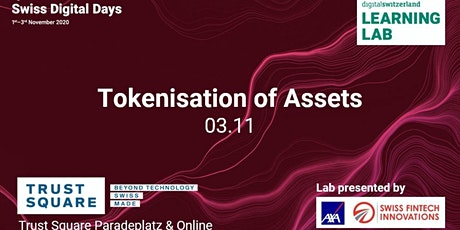 Tokenisation of assets Learning Lab at the Swiss Digital Days