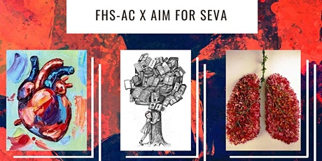 FHS-AC x AIM for SEVA: Art Exhibition tickets