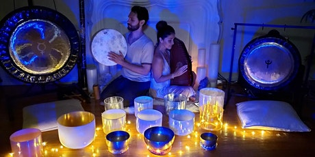 Virtual Celestial Blue  Moon Sound Healing Journey tickets