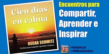 Encuentro  Libro 100DiasEnCalma, reflexionamos sobre un nuevo capítulo entradas