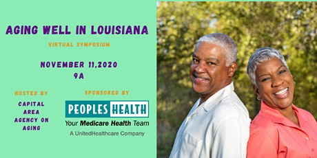 Aging Well in Louisiana Virtual Symposium 2020 tickets