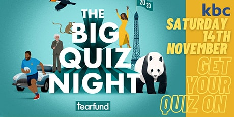 Tearfund Big Quiz Night tickets