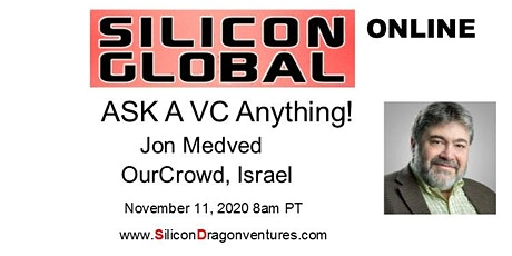 Ask OurCrowd's Jon Medved Anything! tickets