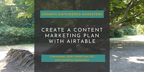 Turn your keyword research into a content marketing plan with AirTable tickets