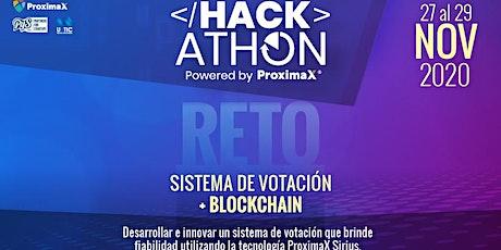 Hackathon ProximaX entradas