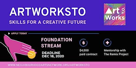 ArtWorksTO: Foundations Stream Info Session tickets