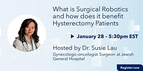 What is Surgical Robotics and how does it benefit Hysterectomy Patients tickets