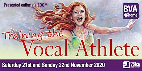 Training The Vocal Athlete (a BVA@home event) tickets