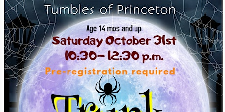 Tumbles Trunk or Treat - age 14 mos. and up tickets