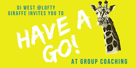 """Have a Go"" at Group Coaching tickets"