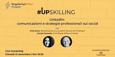 LinkedIn: comunicazioni e strategie professionali sui social biglietti