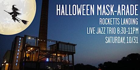 Halloween Mask-arade at The Boathouse Rocketts Landing tickets