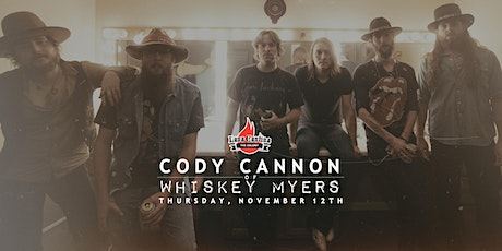 Cody Cannon of Whiskey Myers [Acoustic Set] tickets